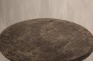 Oud vergrijsd houten tafel tafeltje bijzettafel bijzettafeltje 60 cm salontafel wijntafel wijntafeltje rond ronde landelijk stoer hout