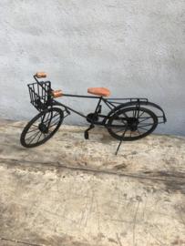 Metalen fiets fietsje decoratie speelgoed kinderspeelgoed industrieel vintage india