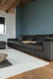 Groot handgewoven 100 % hennep vloerkleed kleed carpet karpet Ivory  200 x 170 cm