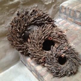 Nestkrans botay naturel 50 cm landelijk stoer krans takken naturel