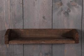 Oud sloophouten wandplank console wandrek 60 cm landelijk stoer plank hout ruw robuust