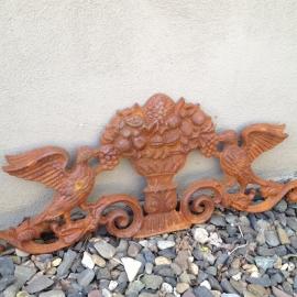 Gietijzeren ornament levensboom wandornament
