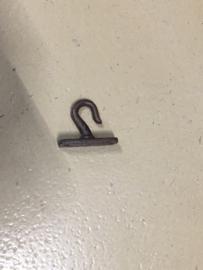metalen haak haakje bruin wandhaak plafondhaak industrieel landelijk kapstokhaak