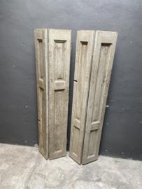 oude sleetse houten luiken Luik luikjes landelijk venster landelijke stijl brocant vintage doorleefd sleets  oud hout