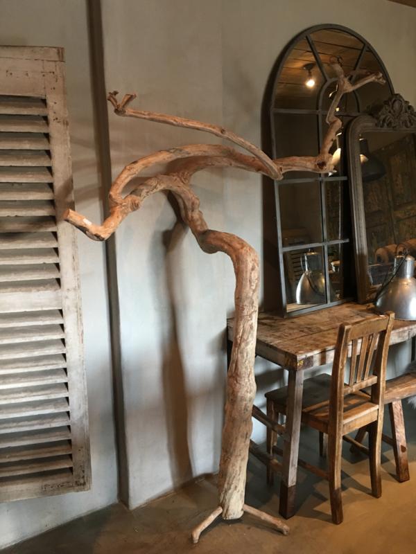 Grote gedroogde koffieboom coffee tree decoratie boom tak decoratietak gebleekt