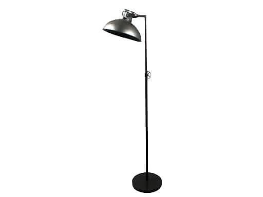 Stoere vloerlamp staande lamp zink grijs industrieel landelijk