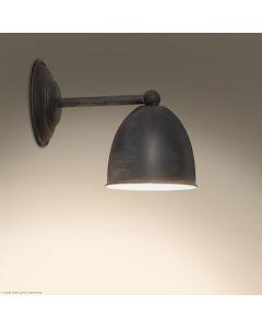 Conzone Frezoli Tierlantijn mat zwart wandlamp wandlampje