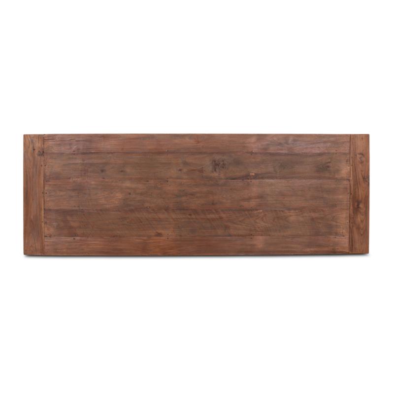 Teakhouten tafelblad gemaakt van oud teakhout 200 x 70 cm