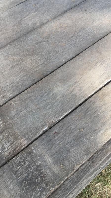 Uitgelezene Oude vergrijsd houten planken plank losse wagonplanken wagondelen YE-02