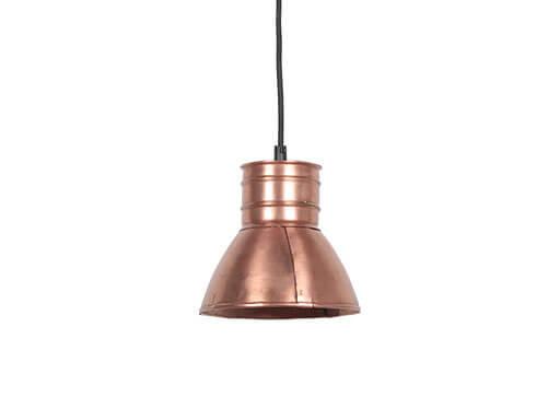 Industriele metalen spot hanglamp industrieel rood koper metaal landelijk stoer