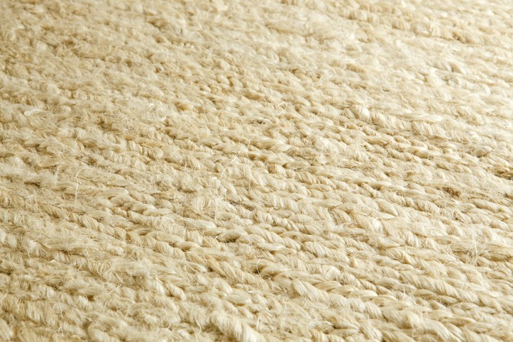Groot handgewoven 100 % hennep vloerkleed kleed carpet karpet Ivory  140 x 200 cm
