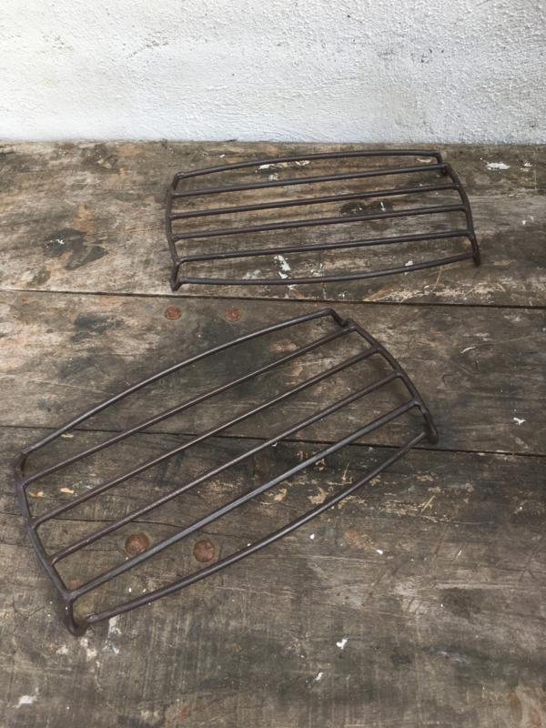 Metalen onderzetter onderzetters vintage landelijk industrieel metaal pannenonderzetters pannenonderzetter
