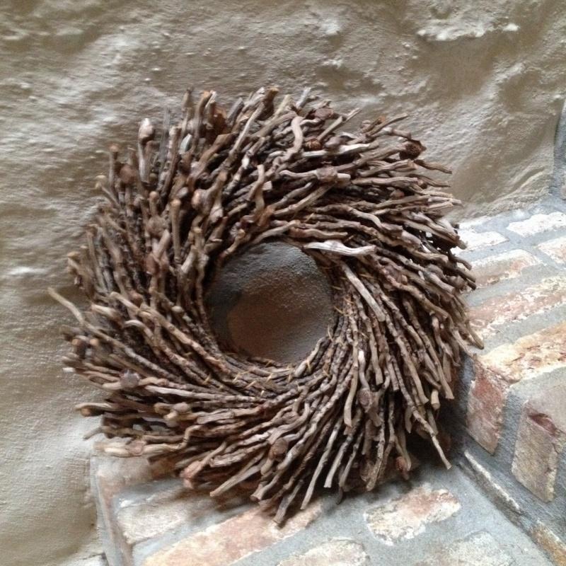 Nestkrans botay naturel 40 cm krans natuurlijk landelijk bruin