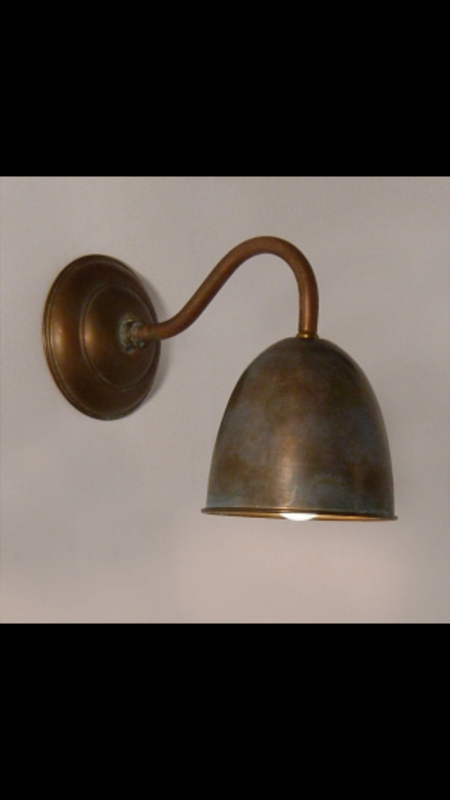 Koperen wandlamp Tierlantijn koper wandlampje Frezoli