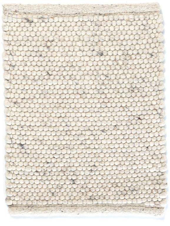 Groot handgewoven 100 % vervilt wol vloerkleed kleed carpet karpet ivory 300 x 200 cm