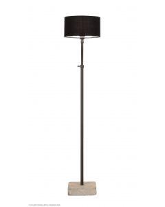 Tierlantijn frezoli vloerlamp hard stone lood zwart kleur staande lamp lampje hardsteen voetje landelijk industrieel stoer