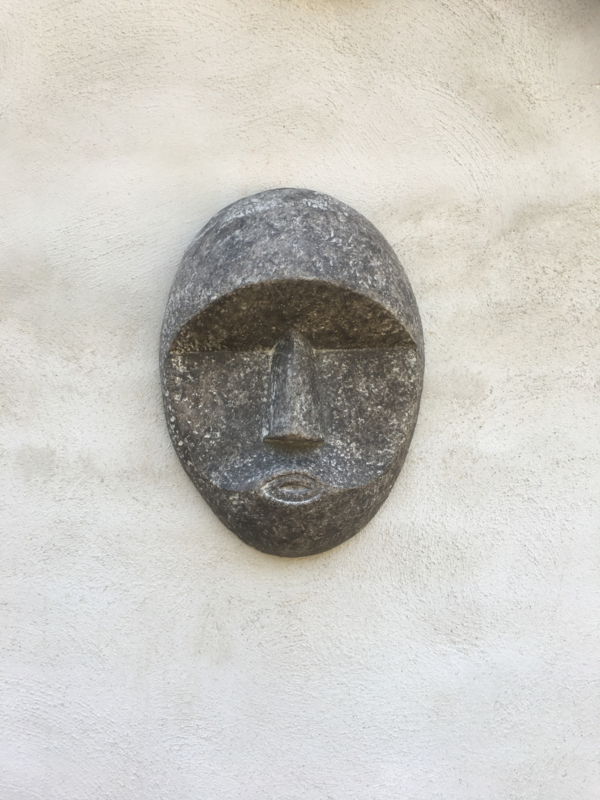 Creastone mask masker grijs grijze antraciet wanddecoratie landelijk stoer L