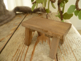 Table of  weathehered wood