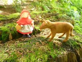 Patroon Roodkapje en de wolf