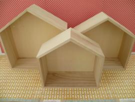 houten huisje klein