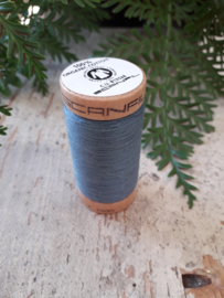 naaigaren biologisch katoen kleur: oud blauw