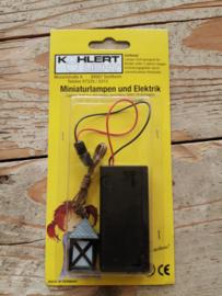 lantaarn met batterijhouder