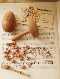 houten schaartje (miniatuur)