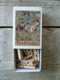 houten knijpers in doosje