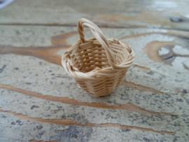 rieten mandje naturel 2,5 cm doorsnee