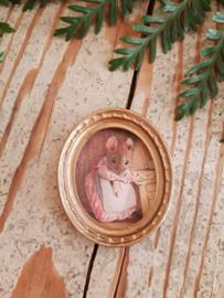 schilderijtje Mrs. Little mouse