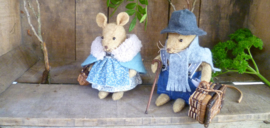 Grandpa and grandma mouse (pattern included)
