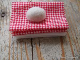 Handdoekset en zeep