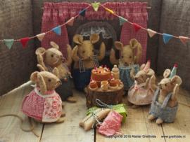 Materiaalpakket Feest in het muizenhuis