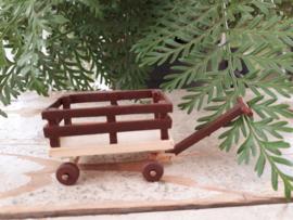 houten kar