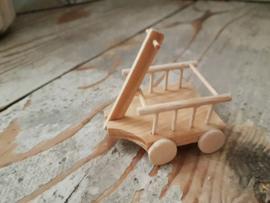 houten karretje