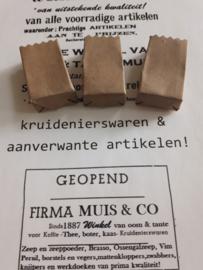 3 papieren zakken