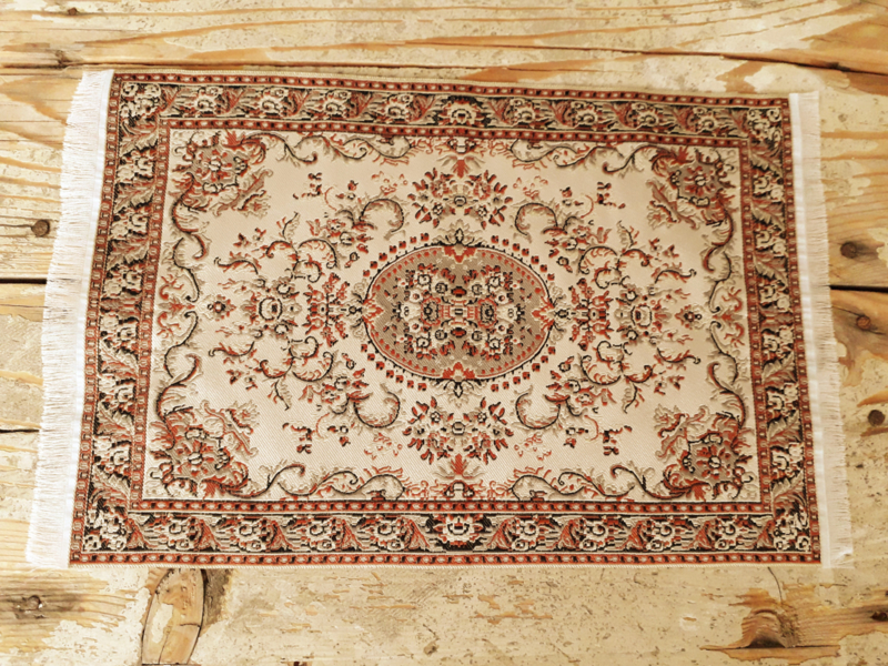 Perzisch vloerkleed beige