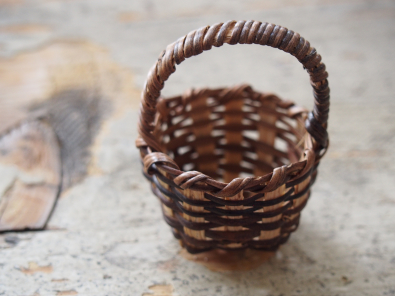 wicker basket 4 cm