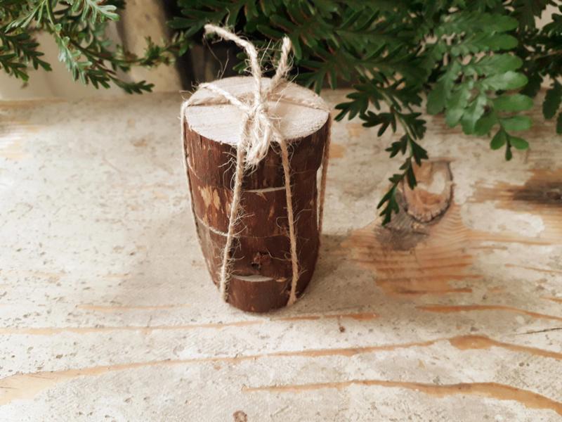 boomstamschijfjes 4 stuks