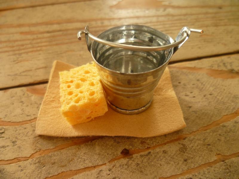 emmer, spons en zeem
