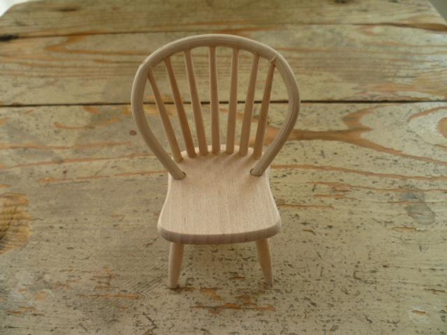 stoel ronde leuning