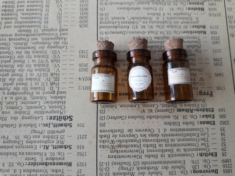 3 medicine bottles
