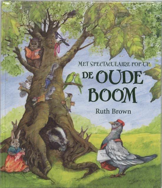De oude boom Prentenboek