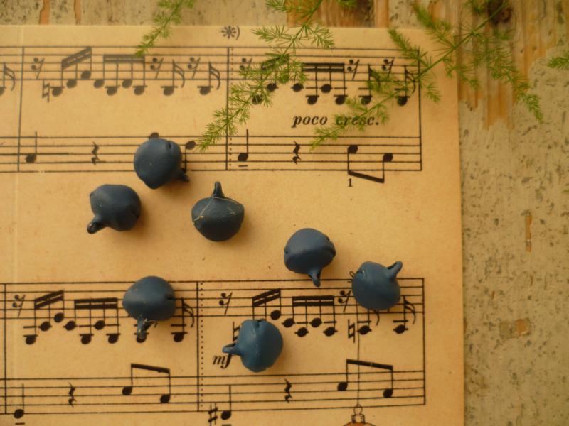 7 blauwe belletjes