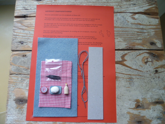 Materiaalpakket aanvulling babymuisjes en  slaapkamerholletje