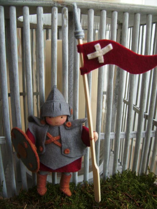 Patroon De rode ridder