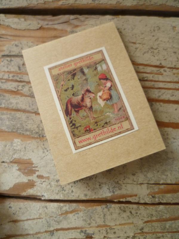 Naaldenboekje Roodkapje en de Wolf