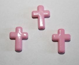 Kraal Kruisje Roze