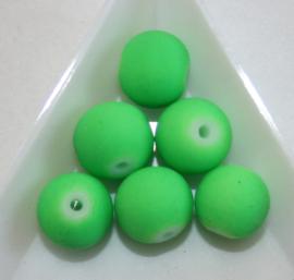 Glaskraal rond Neon Groen
