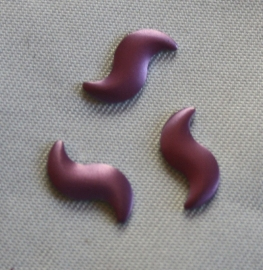 Curve Lt-Purple (mat) 4x9 mm